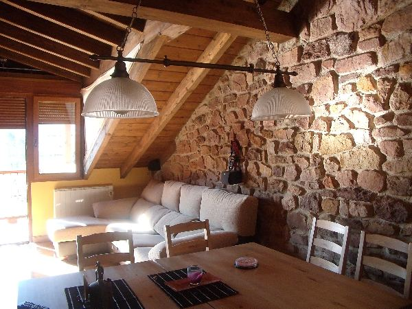 Rural house in cantabria - The rustic attic ...